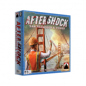 Build a thousand bridges and no one calls you a Bridge Builder, but if you cause one Aftershock… Aftershock: San Francisco and Venice Board Game Review
