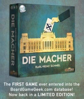 Die Macher:  Limited Edition Kickstarter