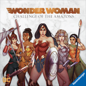 Wonder Woman: Challenge of the Amazons Coming Soon from Prospero Hall