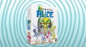 EPIC SCALE GAMES' AUTOMATED ALICE, A COOPERATIVE DICE PLACEMENT GAME BASED ON THE NOVEL BY JEFF NOON, IS LIVE ON KICKSTARTER