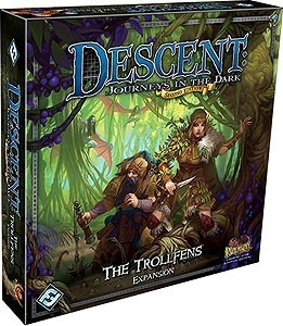 Descent: Journeys in the Dark Second Edition: The Trollfens Expansion