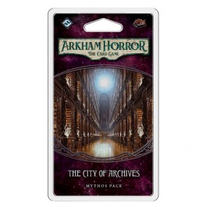 Arkham Horror: The Card Game - The City of Archives (Forgotten Age Mythos Pack 4)