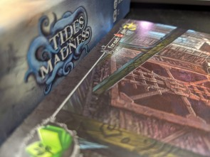 Tides of Madness is the Cthulhu based drafting game to send your partner mad