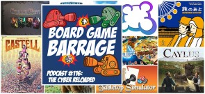The Cyber Reloaded - Board Game Barrage