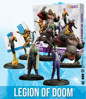 Legion of Doom DC Universe Miniature Game