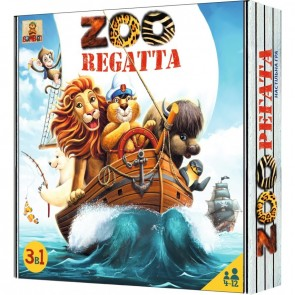 ZOOregatta: 3 adventures in 1 box