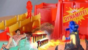 Vintage Board Game Review: Bridge Buster (1990) | Dynamite (1988)