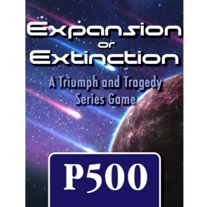 Expansion or Extinction: A Triumph and Tragedy Series Game added to GMT's P500