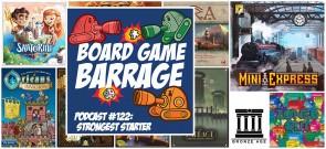 Strongest Starter - Board Game Barrage