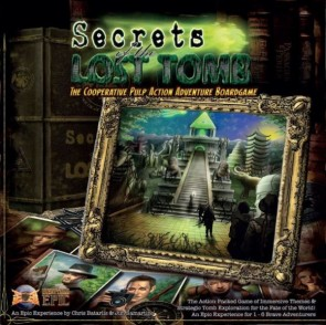 Secrets of the Lost Tomb Board Game