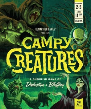 Campy Creatures 2nd Edition Board Game