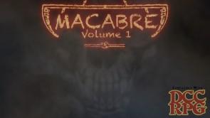Macabre: Volume 1 [ZineQuest] on Kickstarter Now