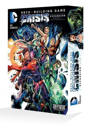 DC Comics Deck Building Game: Crisis Expansion Pack 1