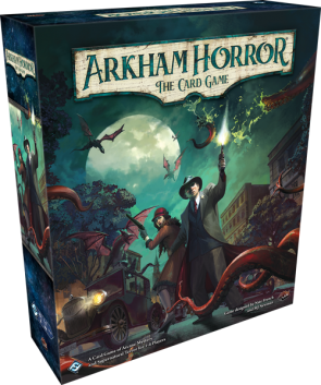 Arkham Horror Card Game: the greatest deck construction introduction of all time…  if you can get there.