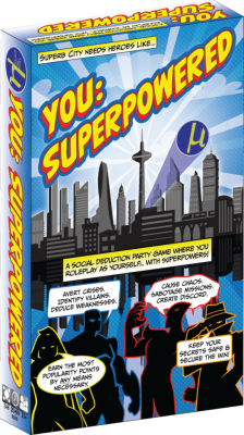 A Pocket Full of Kryptonite- You: Superpowered Boardgame Review