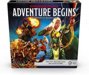 D & D Adventure Begins Board Game