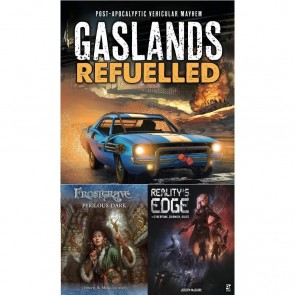 Osprey's Fall Book Harvest - Gaslands: Refueled, Frostgrave: Perilous Dark, Reality's Edge - Review