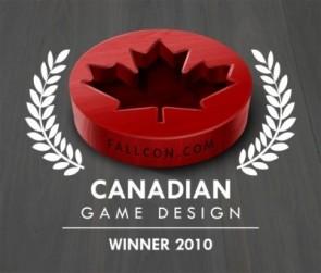 2012 Canadian Game Design Award - Winner Announcement