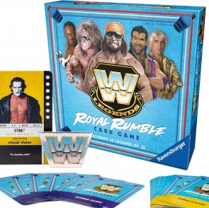 WWE Legends Royal Rumble Card Game in Stores Now