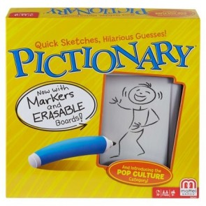 Destroying A Classic: A Pictionary Board Game Review