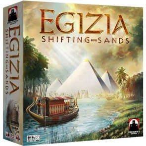No Dice Rolling on this River - Egizia: Shifting Sands Board Game Review
