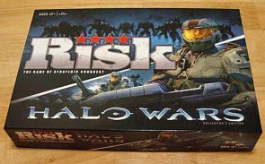Review of Risk: Halo Wars board game