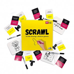 Scrawl: The Adult Board Game Where Drawings Go Horribly Wrong