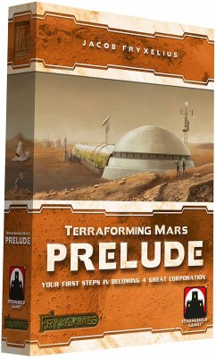 An Anomaly on Mars - Terraforming Mars: Prelude Expansion Review
