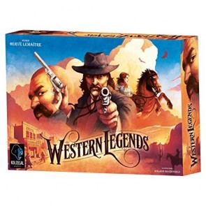 Western Legends Board Game