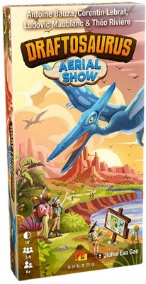 Draftosaurus: Aerial Show Expansion in Stores Soon
