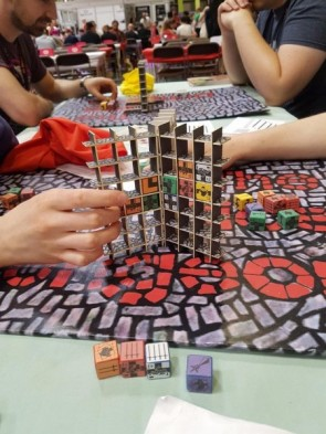 UK Games Expo Report  #1 - Kickstarter Edition: Escape the Dark Castle, The Dice Dungeon, Coral Island