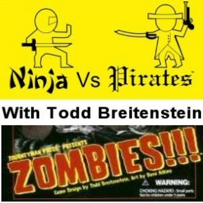 Zombies!!! with Todd Breitenstein - a really old episode from before I was Who, What, Why?
