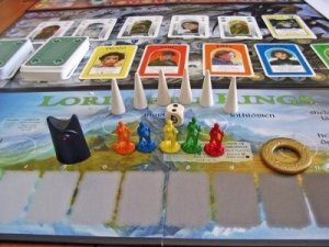 Barnestorming #000013- Re-Reading Knizia's LOTR, GOME, Santa Claus
