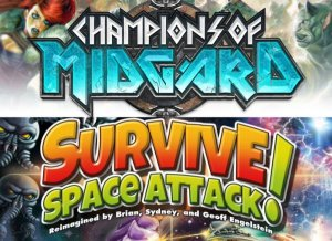 Survive space attack board game review