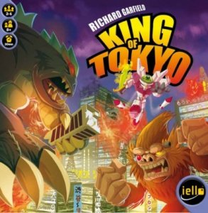 King of Tokyo, the new game from Richard Garfield, in Review