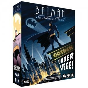 Batman The Animated Series Gotham Under Siege Board Game