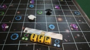 Barnestorming- Space Cadets Dice Duel, Threes, Frozen