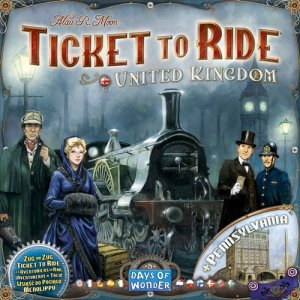 Ticket to Ride: United Kingdom & Pennsylvania Review