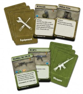 Weapon and Item Cards