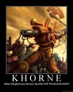 khorn motivation