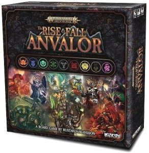 The Rise and Fall of Anvalor A Warhammer: Age of Sigmar Board Game Announced by WizKids