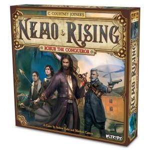 Nemo Rising: Robur the Conqueror Board Game
