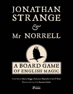 Jonathan Strange and Mr. Norrell board game