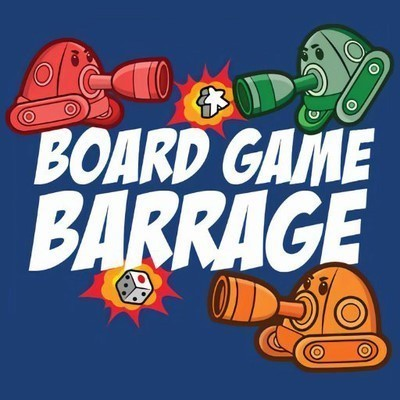 Board Game Barrage 100: Top 50 Games of All-Time 2019: 50-41