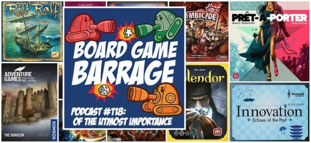 Of the Utmost Importance - Board Game Barrage