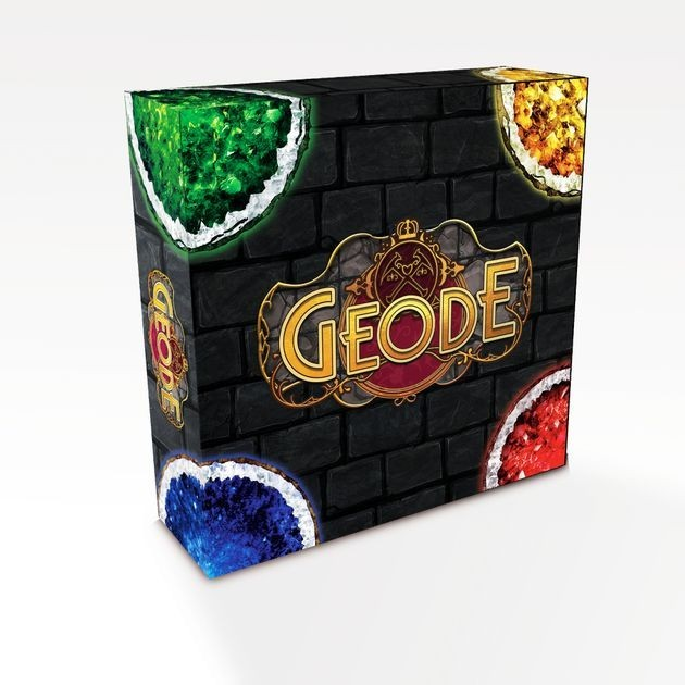 I Wanna Rock: A Geode Board Game Preview