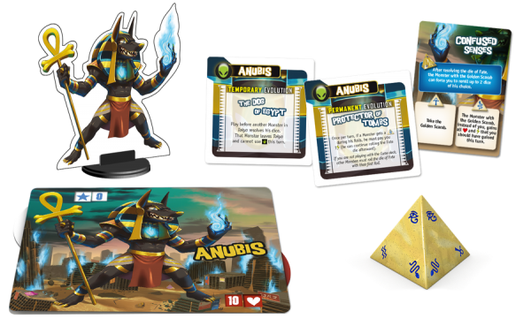 King of Tokyo: Anubis Character Monster Pack Review