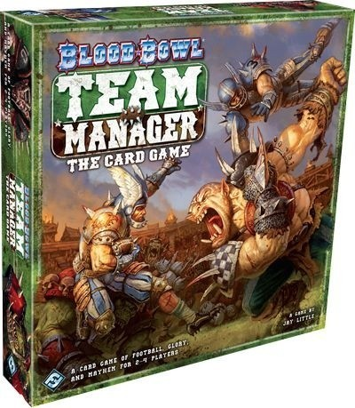 Blood Bowl Team Manager - Card Game Review