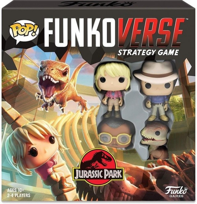 Funkoverse Announces Two New Jurassic Park Sets