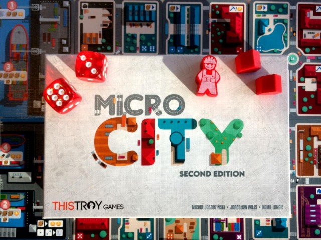 Micro City Board Game Review